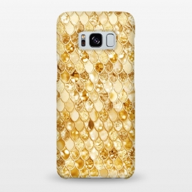 Gold Mermaid Scales Pattern by Utart