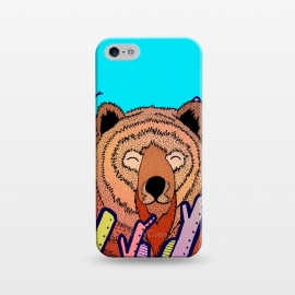 iPhone 5/5E/5s  The bear in the leaves by Steve Wade (Swade)