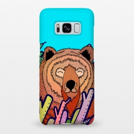 Galaxy S8+  The bear in the leaves by Steve Wade (Swade)