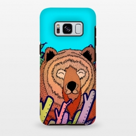 Galaxy S8 plus  The bear in the leaves by