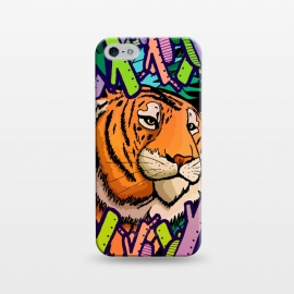 iPhone 5/5E/5s  Tiger in the undergrowth  by Steve Wade (Swade)