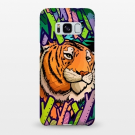 Galaxy S8+  Tiger in the undergrowth  by Steve Wade (Swade)