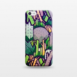iPhone 5C  Jungle Cactus by Steve Wade (Swade)