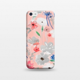 iPhone 5C  Blush florals by MUKTA LATA BARUA