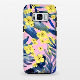 Galaxy S8 plus  Tropical Flower by