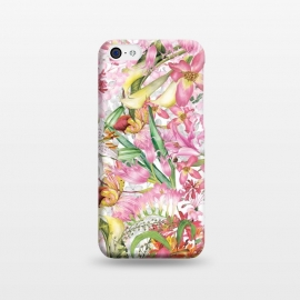 iPhone 5C  Flower Jungle by Utart