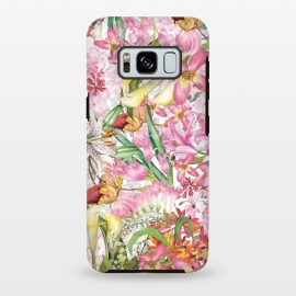 Galaxy S8 plus  Flower Jungle by