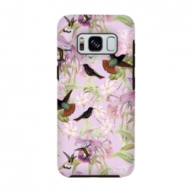 Galaxy S8  Flower and Bird Jungle  by Utart