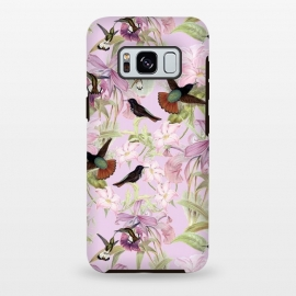 Galaxy S8 plus  Flower and Bird Jungle  by