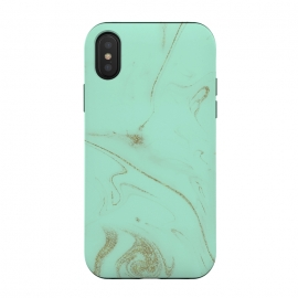 Elegant gold and mint marble image by InovArts