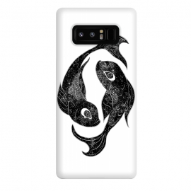 Galaxy Note 8  Pisces by ECMazur  (pisces,astrology,space,horoscope,zodiac,stars,fish,nature,surreal,magical,sign,koi)