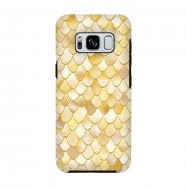 Gold Wonky Metal Mermaid Scales by Utart