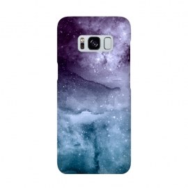 Galaxy S8  Watercolor and nebula abstract design by InovArts