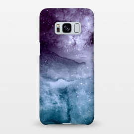 Galaxy S8+  Watercolor and nebula abstract design by InovArts