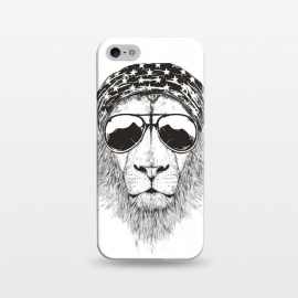 iPhone 5/5E/5s  Wild lion (bw) by