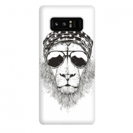 Galaxy Note 8  Wild lion (bw) by
