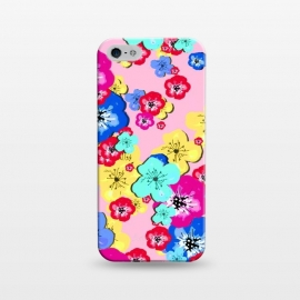 iPhone 5/5E/5s  Pretty Flowers by MUKTA LATA BARUA