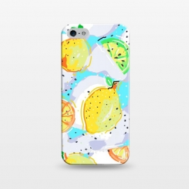 iPhone 5/5E/5s  Lemon Crush by MUKTA LATA BARUA (lemon, lemons, summer, fresh, food, fruit)
