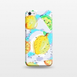 iPhone 5C  Lemon Crush by MUKTA LATA BARUA (lemon, lemons, summer, fresh, food, fruit)