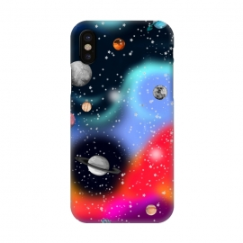 iPhone X  Cosmic world by MUKTA LATA BARUA