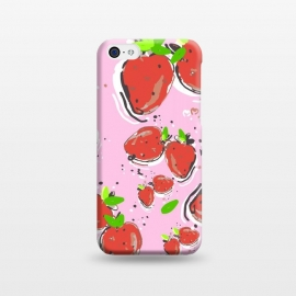 iPhone 5C  Strawberry Crush New by MUKTA LATA BARUA