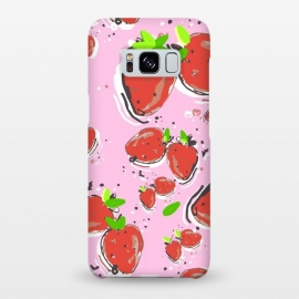 Galaxy S8+  Strawberry Crush New by MUKTA LATA BARUA (food, fruit, summer, strawberry)