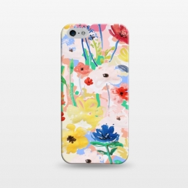 iPhone 5/5E/5s  Watercolor Florals 002 by MUKTA LATA BARUA (flowers, florals, pretty, beautiful, blooms, spring, summer)