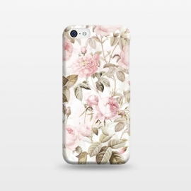 iPhone 5C  Romantic Vintage Roses Pattern by Utart