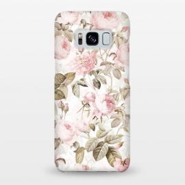 Galaxy S8+  Romantic Vintage Roses Pattern by Utart