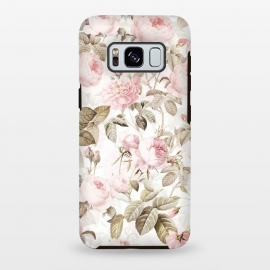 Galaxy S8 plus  Romantic Vintage Roses Pattern by