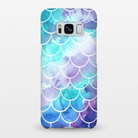 Galaxy S8+  Pastel Clouds Mermaids Tail by Becky Starsmore