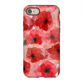 iPhone 8/7  Abstract Poppy Pattern by Utart