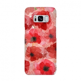 Abstract Poppy Pattern by Utart