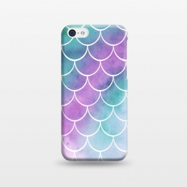 iPhone 5C  Dreamy Pastel Mermaid Scales by Becky Starsmore