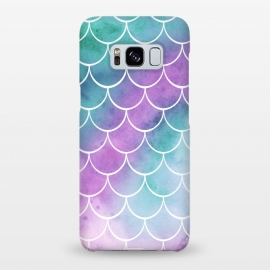 Galaxy S8+  Dreamy Pastel Mermaid Scales by Becky Starsmore