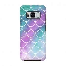 Galaxy S8  Dreamy Pastel Mermaid Scales by Becky Starsmore