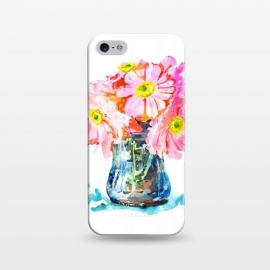 iPhone 5/5E/5s  Watercolor Flower Pot by