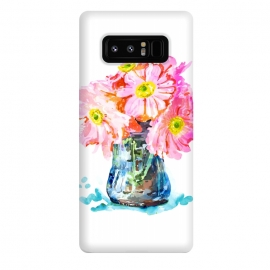 Galaxy Note 8  Watercolor Flower Pot by