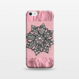 iPhone 5C  Embellishment On Rose Gold by Andrea Haase