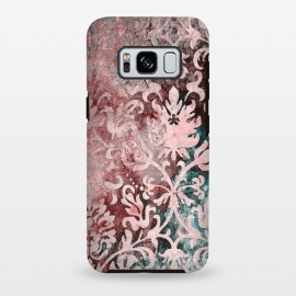 Galaxy S8 plus  Rosegold Damask by