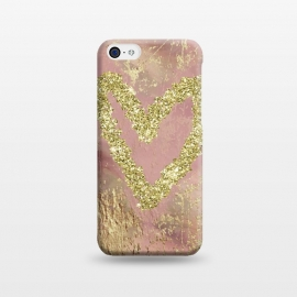 iPhone 5C  Sparkling Heart by Andrea Haase