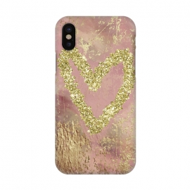 iPhone X  Sparkling Heart by Andrea Haase