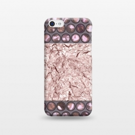 iPhone 5C  Rose Gold Shiny Elegance by Andrea Haase