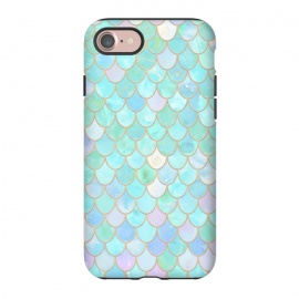 iPhone 8/7  Pastel Trendy Chic Mermaid Scales by Utart