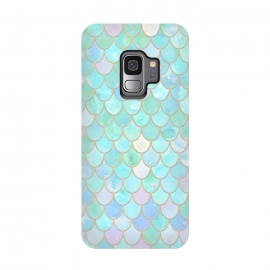 Galaxy S9  Pastel Trendy Chic Mermaid Scales by Utart ( abstract, animal, blink, fish, fish scale, fish scales, geometric, glamour, gleam, glitter, glittering, glow, glowing ,gold, golden ,light ,luxury, magic, marine, mermaid, mermaid scales, modern, nautical, ocean, oceanic, pastel, pattern, reptile, scale, scales, sea, seamless,shimmer, shine, shiny)