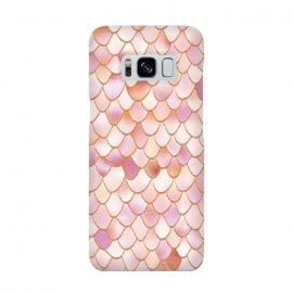 Wonky Rose Gold Mermaid Scales by Utart