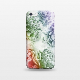 iPhone 5C  Soft Flowers by Creativeaxle