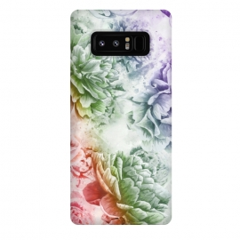 Galaxy Note 8  Soft Flowers by Creativeaxle