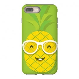 Summer Fun - Smiling Pineapple by DaDo ART