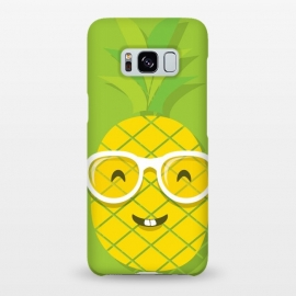 Galaxy S8+  Summer Fun - Smiling Pineapple by DaDo ART